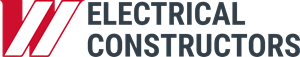 White Electrical Constructors Logo